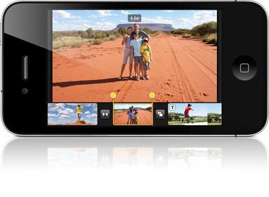 Новые подробности про iMovie для iPhone