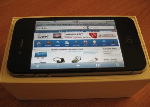 Смотрины iPhone 4 в iLand