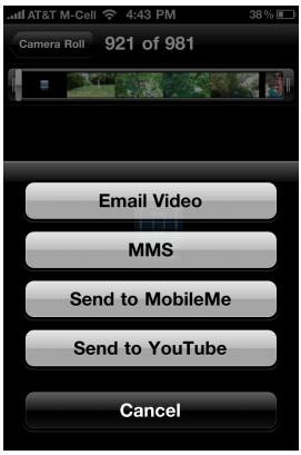 Стив Джобс: В будущем iPhone 4 сможет загружать HD видео на YouTube