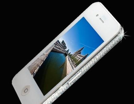 iPhone 4 White Diamon Edition за $20.000
