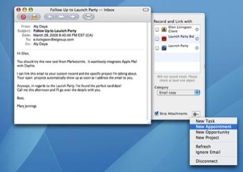 Daylite Mail Integration: полная интеграция с Apple Mail