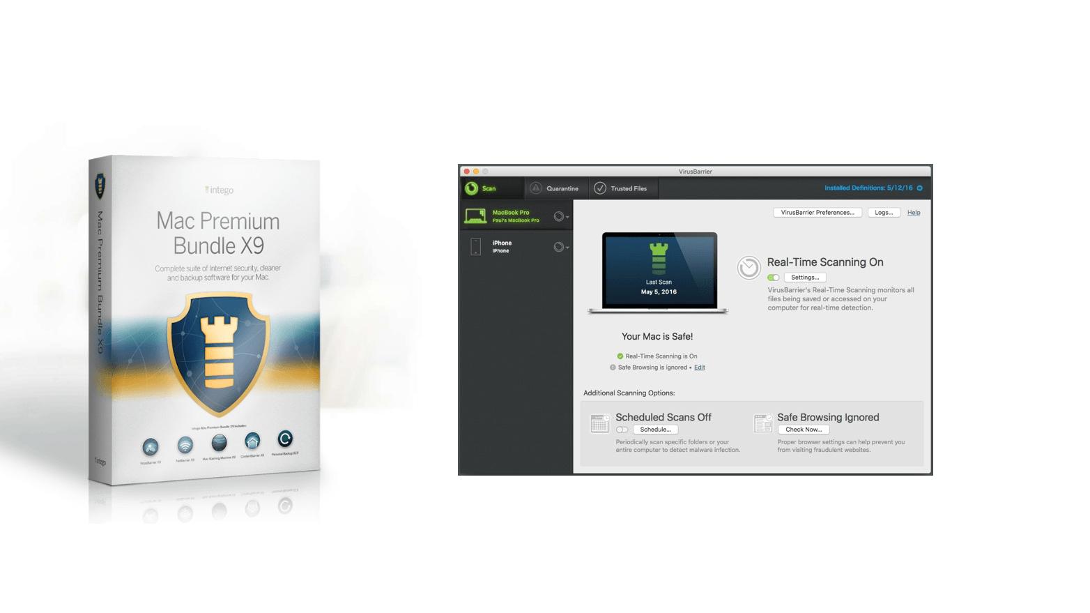 Mac Security for Home – защита для Mac
