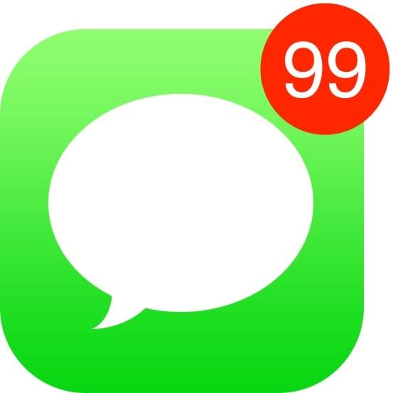 Як помітити всі повідомлення iMessage на iPhone/iPad як прочитані