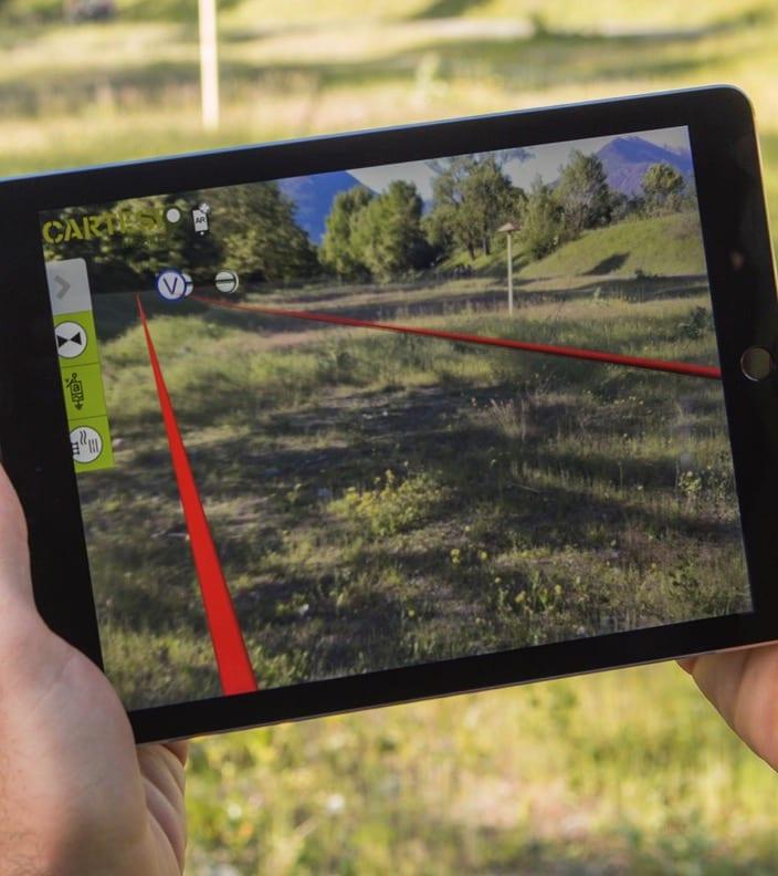 Snam використовує AR на iPad