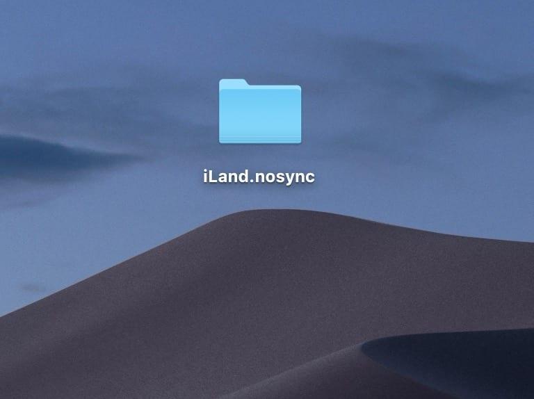 Виключення для сінхронізації документів у iCloud