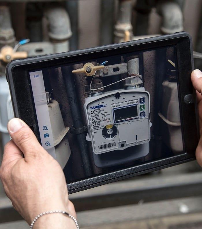 Italgas фото на iPad виконаної роботи