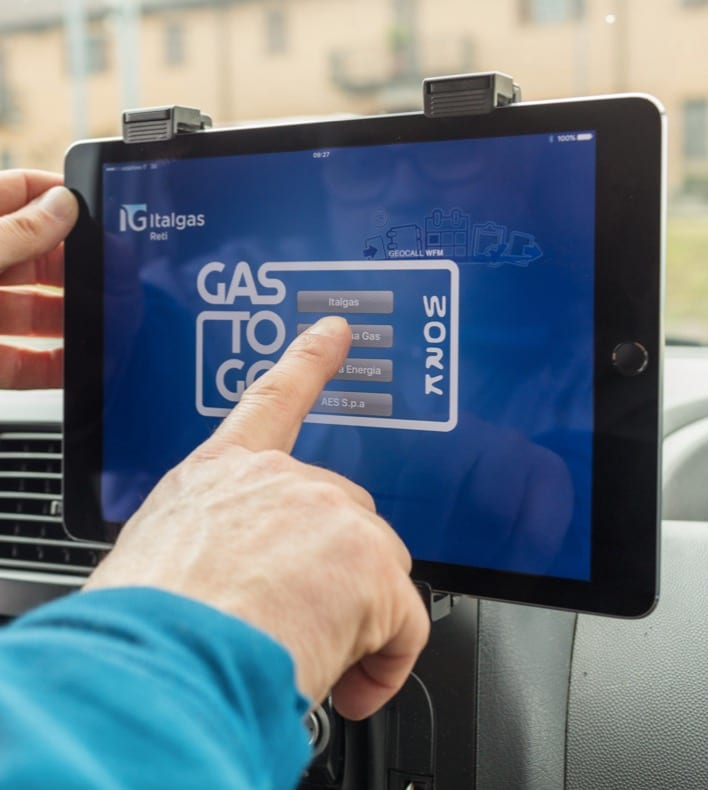 Italgas iPad Gas to Go