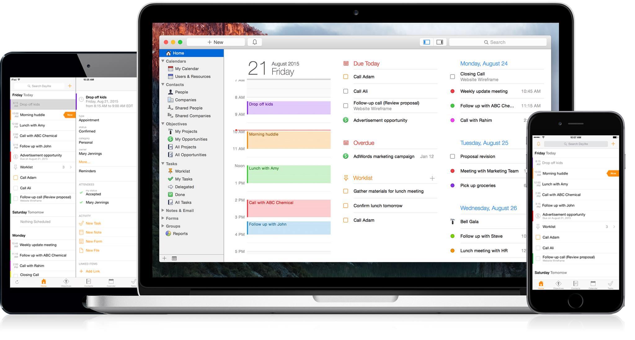 Daylite CRM —краща CRM-система для macOS. Запрошення на вебінар