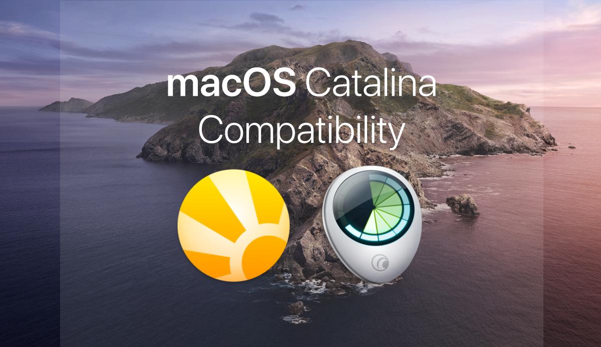Сумісність Daylite з macOS 10.15 Catalina