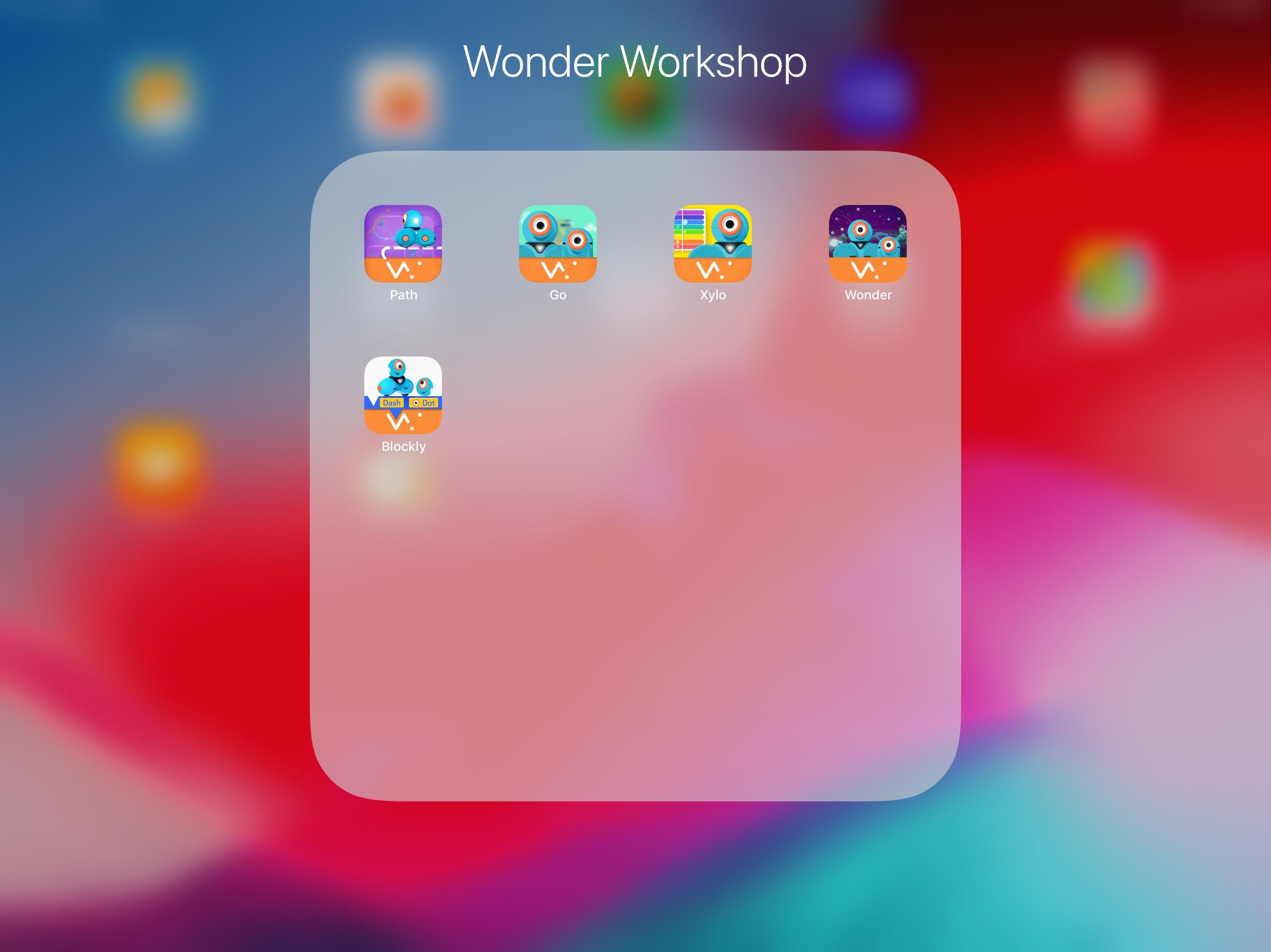 iPad Wonderdash