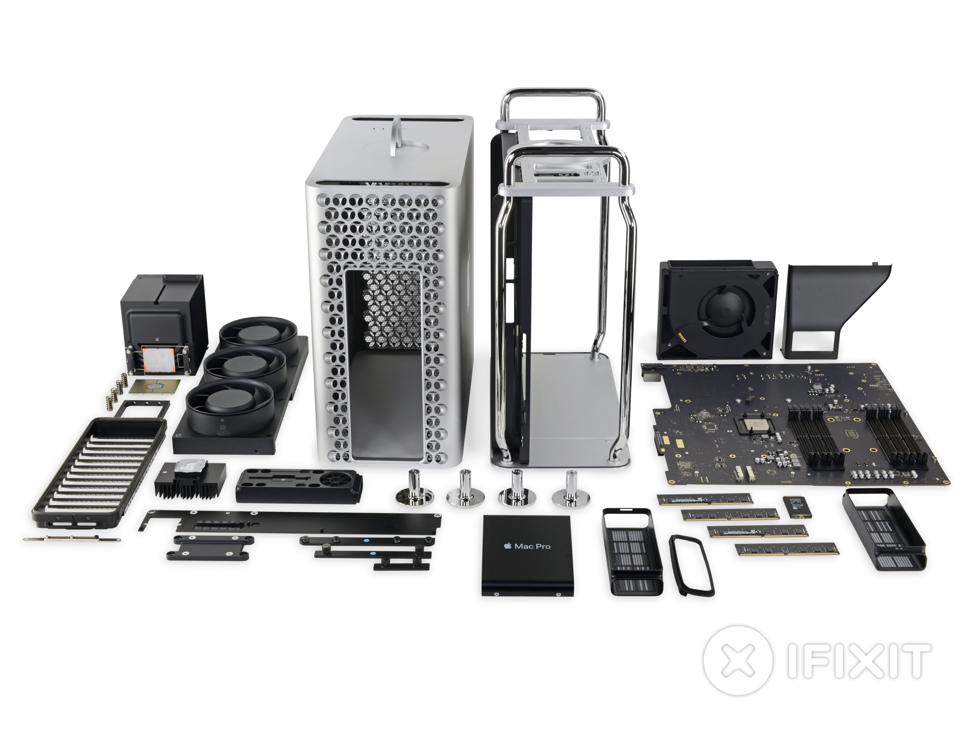 Перший Mac, що майже задовільнив iFixit — Mac Pro