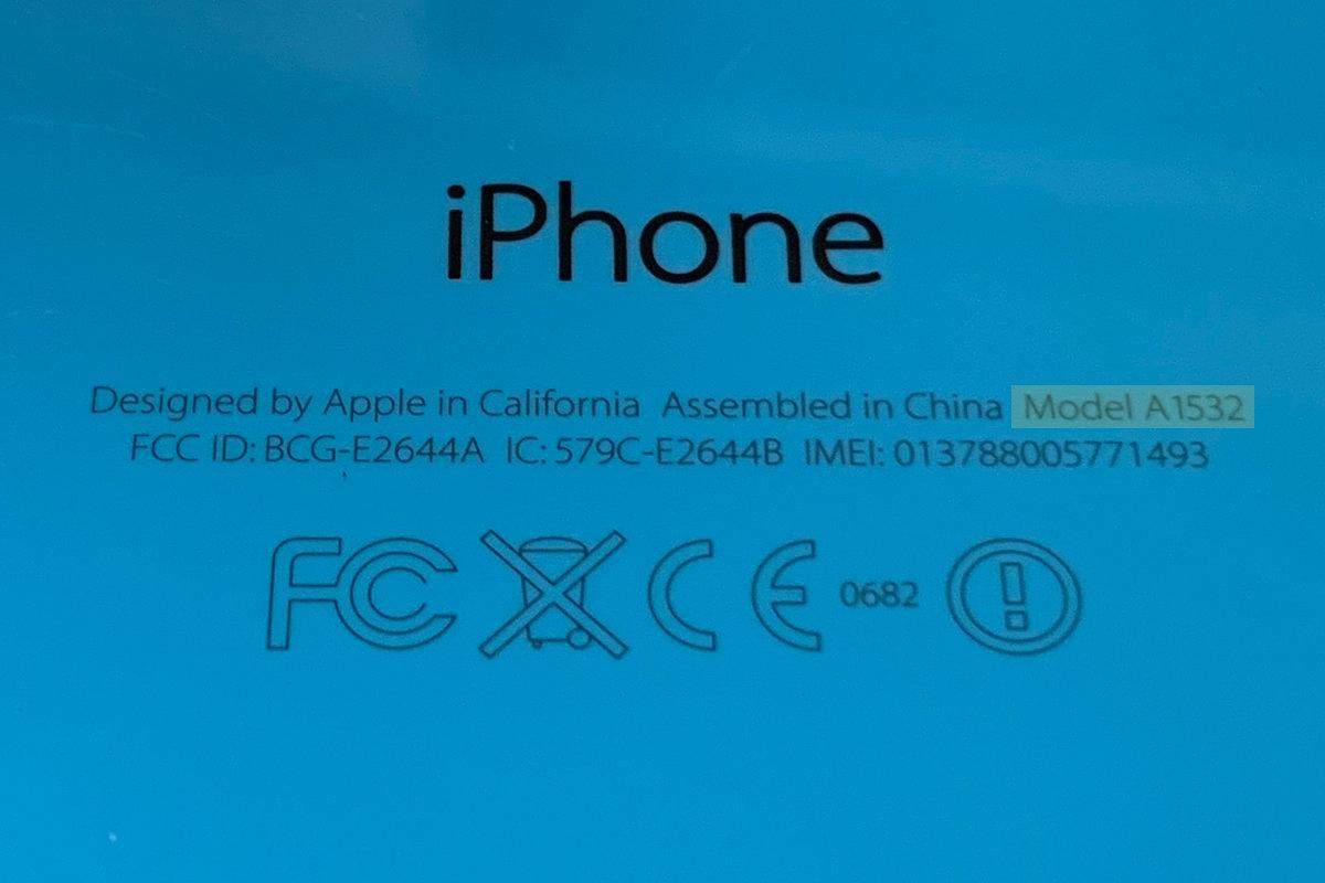 Як визначити яка у мене модель iPhone
