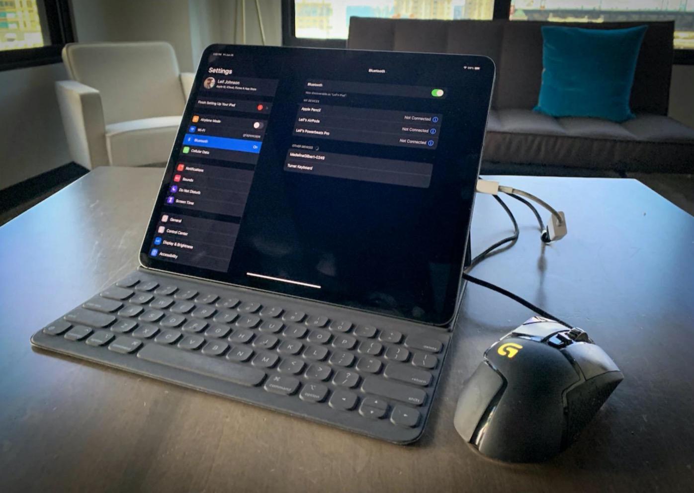 iPad Pro мишка
